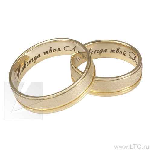 Гравировки на кольца обручальные