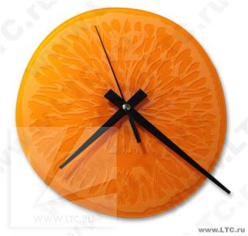 Часы Апельсин по индивидуальному дизайну