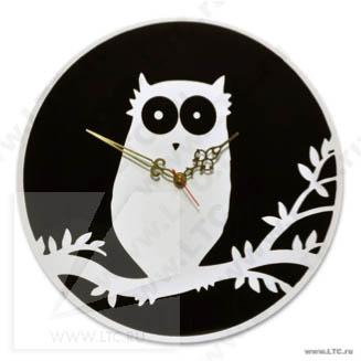 Часы Сова из акрила