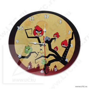 Часы настенные с полноцветной печатью